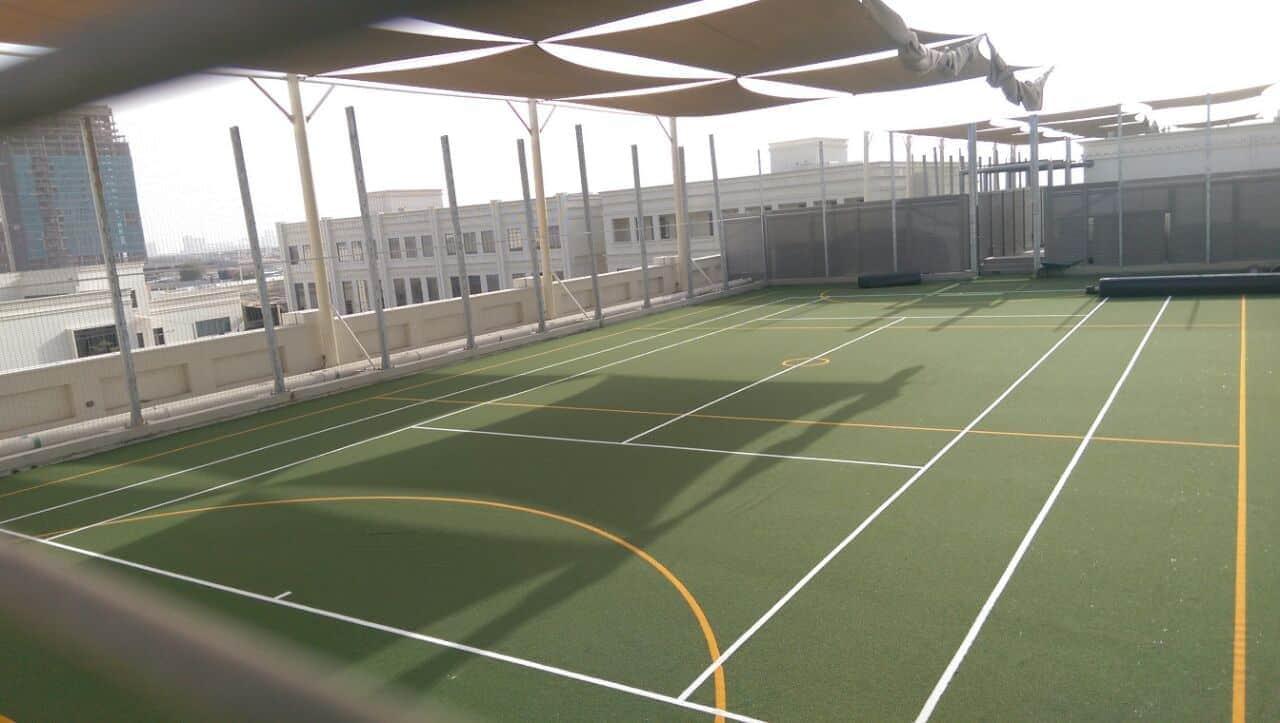 tennis netball court