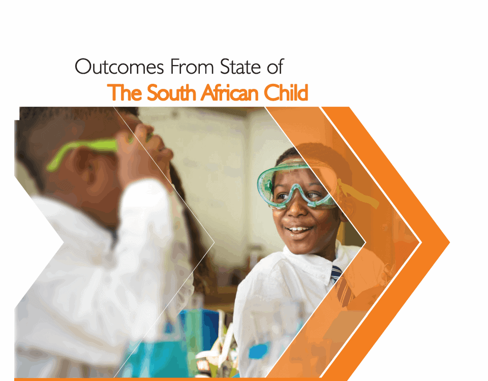 state of the south african child report Page 01